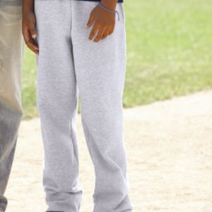 Double Dry Eco Youth Open Bottom Sweatpants with Pockets Thumbnail