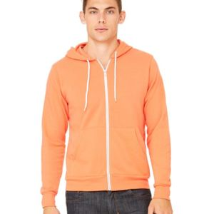 Unisex Sponge Fleece Full-Zip Hoodie Thumbnail