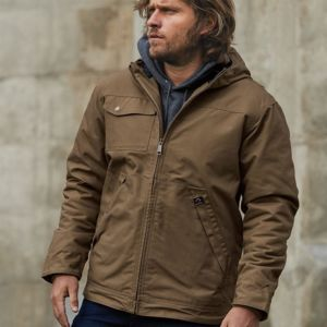 Yukon Canvas Hooded Jacket Thumbnail