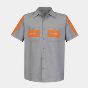 Enhanced Visibility Industrial Work Shirt Thumbnail