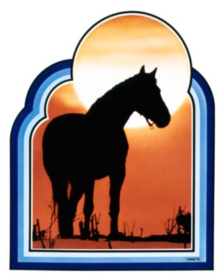 RS0088 Sunset Horse