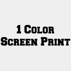 1 Color Screen Print Thumbnail