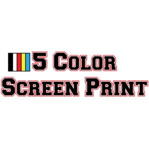 5 Color Screen Print Thumbnail